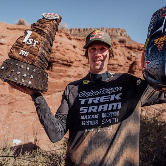 The First Ever Four-Time Winner of Red Bull Rampage