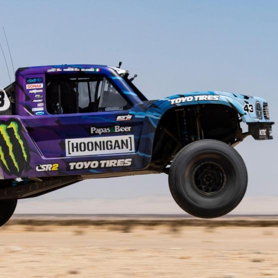 Hoonigan truck racing